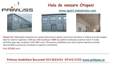 spatii industriale otopeni